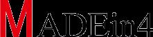 MADEin4 Logo